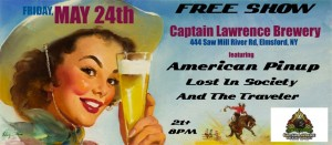 American Pinup at Captain Lawrence Brewery @ Captain Lawrence Brewery | Elmsford | New York | United States